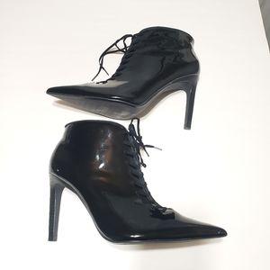 Zara Trafaluc Lace Up Boots
